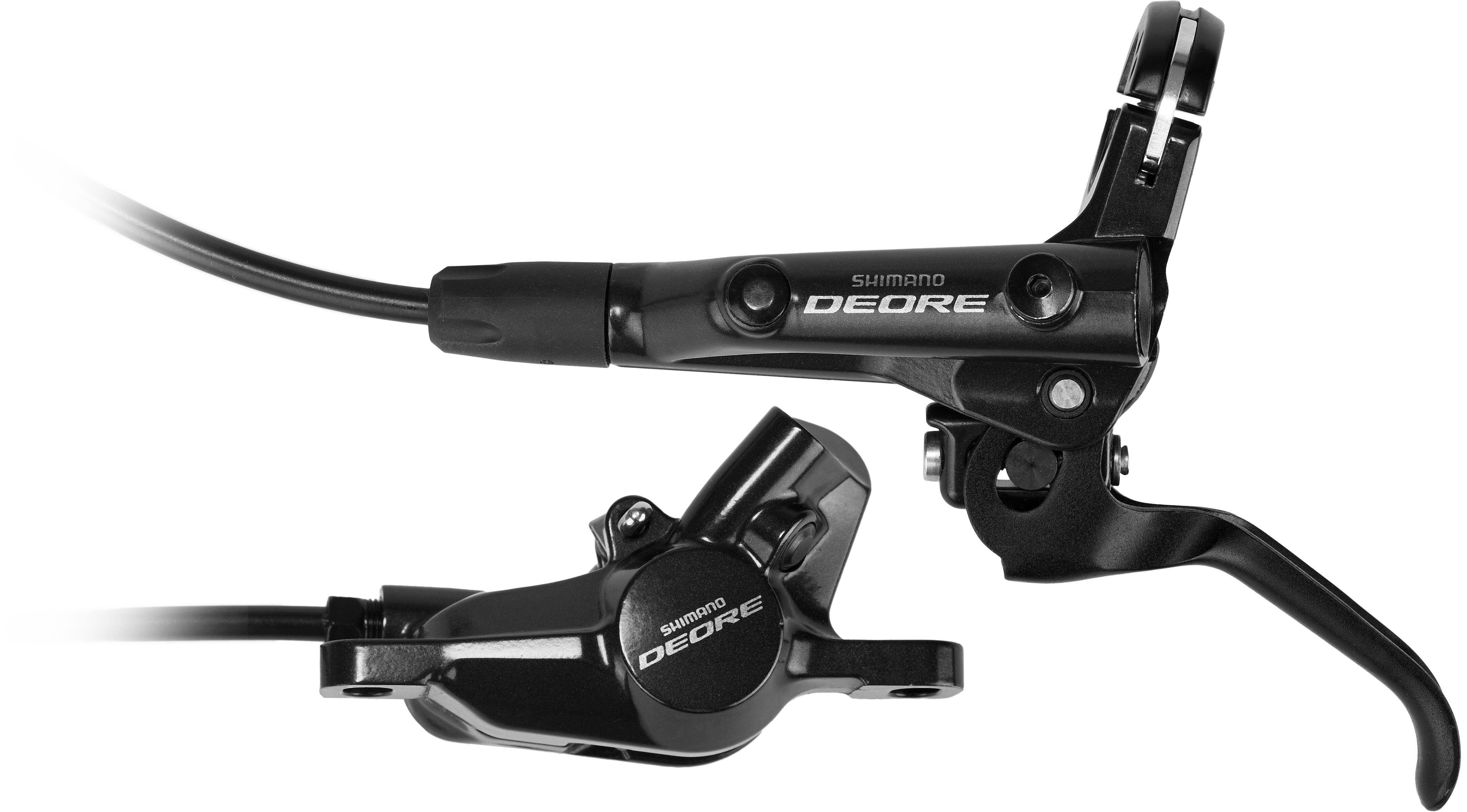 13a404b6fb5 Shimano Deore BR-M6000 Disc Brake Front black at Bikester.co.uk